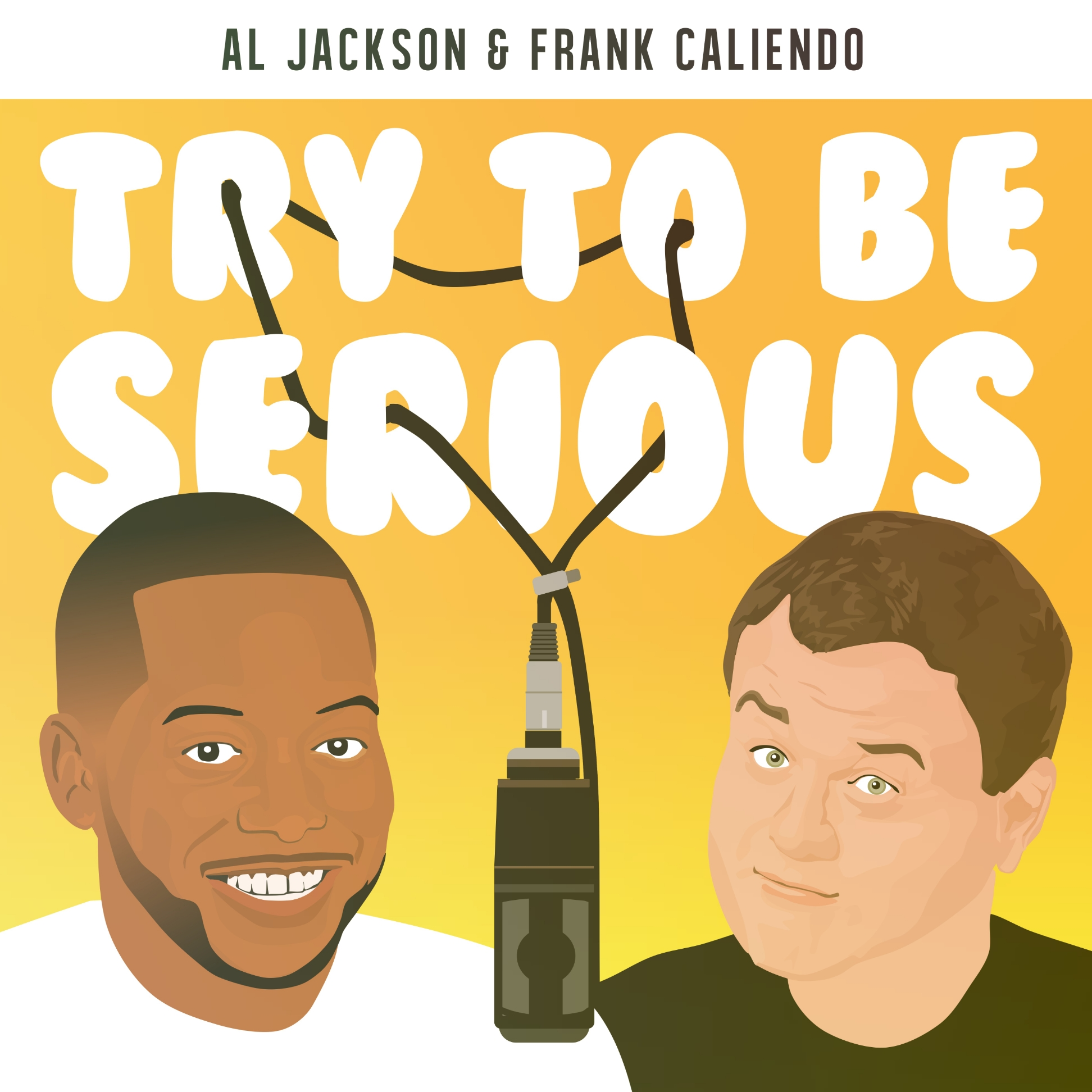 Al Jackson & Frank Caliendo Try To Be Serious